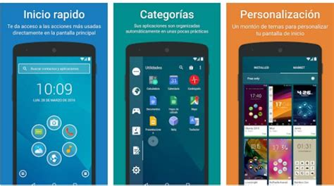 descarga ya search 4 1 y now launcher 7 launchers para android