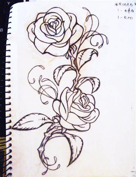 climbing rose tattoo my roses by lo yo on deviantart