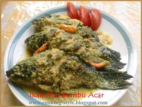 Biji Kemiri Utuh tinug s kitchen stories ikan bumbu acar