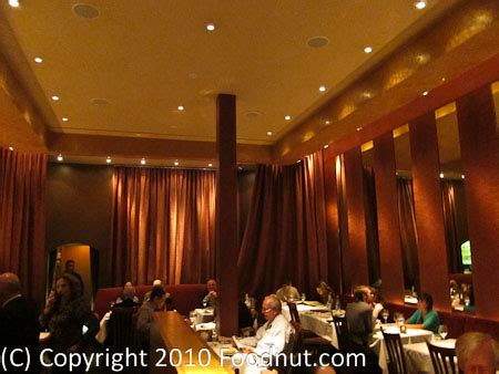 Burgundy dining room