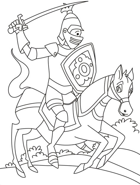 printable coloring pages knights knight coloring pages to download and print for free