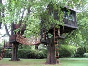 Backyard Clubhouses 33 Simple And Modern Kids Tree House Designs Freshnist