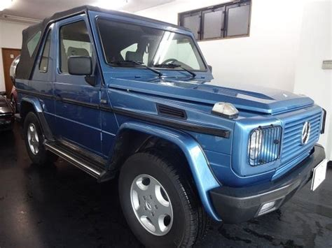 used suv jeep mercedes g class 1999 from japan 2597143
