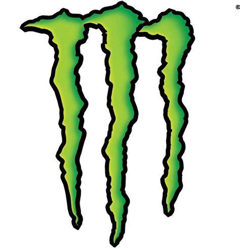 Monsters Logo 1 energy logo y10 digital paintiing