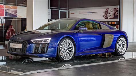 Blue Audi R8 by Beautiful Blue 2016 Audi R8 V10 In Germany Gtspirit