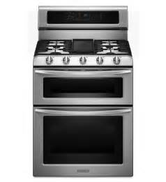 Cooktop Oven Combo 30 Inch 5 Burner Freestanding Double Oven Range With Even