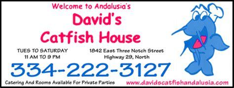 david s catfish house andalusia al 36421 2404 yellowbook