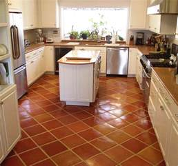 Tile Floors In Kitchen Saltillo Kitchen Floor Tile Kitchen By Rustico Tile And