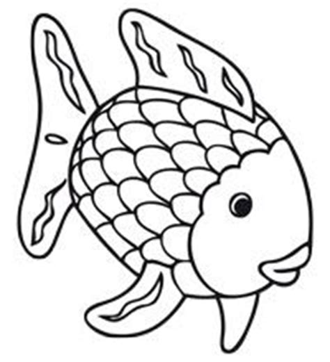 Rainbow Fish Outline Page by 1000 Images About Thema Mooiste Vis De Zee On Rainbow Fish Kern 1 And