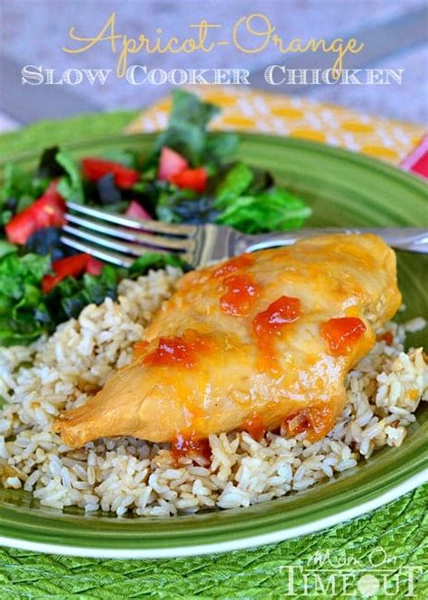 apricot orange slow cooker chicken mom on timeout