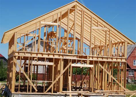 what is an a frame house production of frames of wooden houses