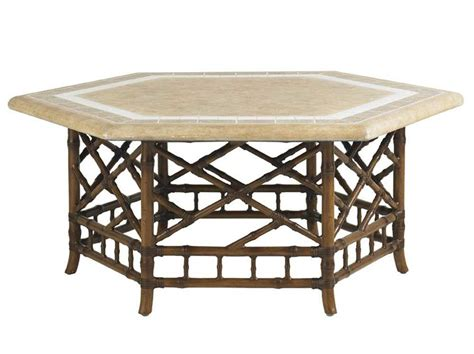 Hexagonal Patio Table Hexagon Patio Table Alfresco Home Kingston Weave 71 In Hexagon Patio Dining Table With Lazy