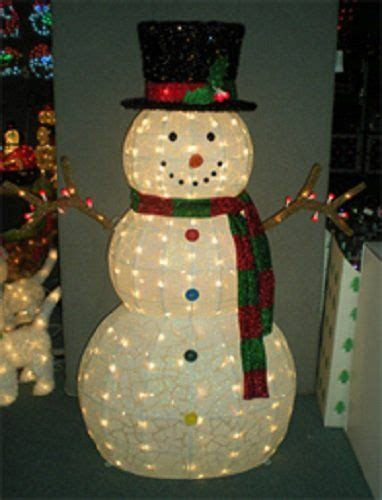 Lighted Outdoor Snowman Frosty Wants A Hug 48 Outdoor Indoor Lighted Snowman