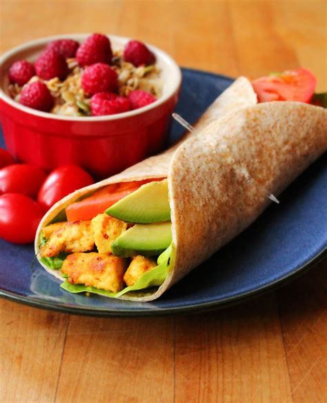 healthy fats breakfast scrambled tofu breakfast wrap recipe tofu breakfast