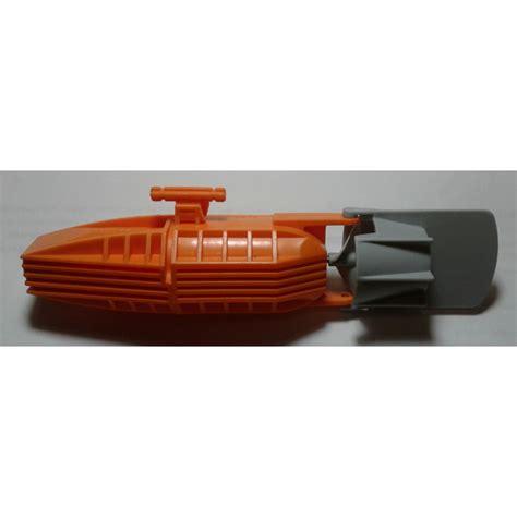 lego boat orange lego orange boat motor with rudder 54824 brick owl