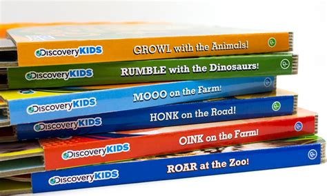 Sound Board Book With 6 Sound by Discovery 10 Button Sound Board Books Set Of 6