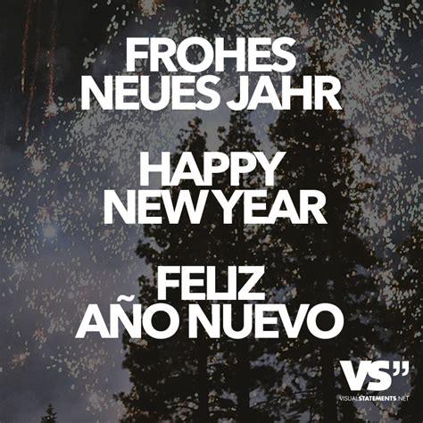 frohes neues jahr happy new year feliz ano nuevo visual