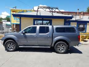 Nissan Frontier Topper 2016 Frontier Are Cx Series Kad Gray Suburban Toppers