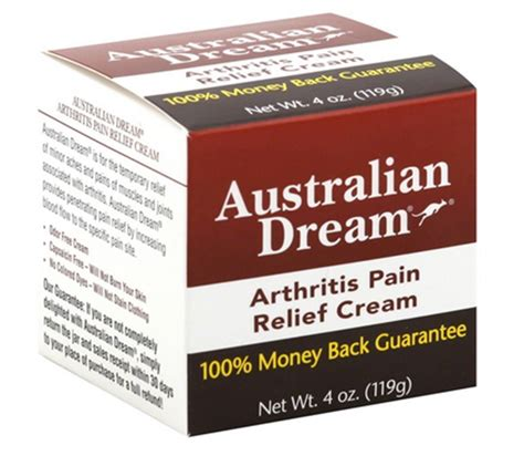 arthritis relief the counter australian arthritis relief 4 oz pack of 5 ebay