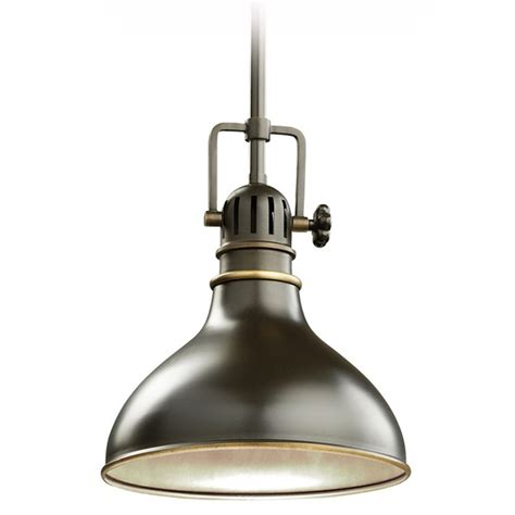 Kichler Lighting Kichler Nautical Mini Pendant Light In Bronze Finish 8 Inches Wide 2664oz Destination Lighting