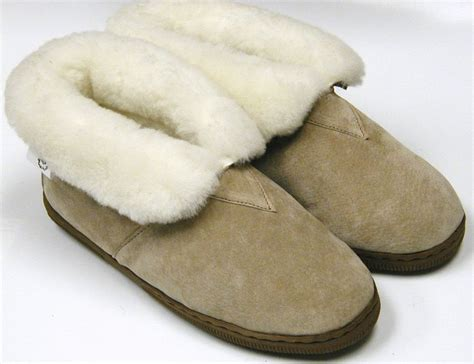 slippers boots womens s shoes sheepskin shearling boot slipper size ebay