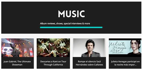 music section a new face for alborde com where latin bands rock