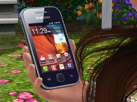 game mod samsung y mod the sims samsung galaxy y update added for