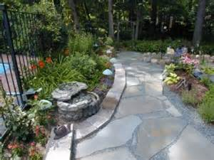 Concrete Stone Patio by Flagstone Patio Designs Flagstone Patio With Fire Pit