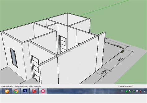 jual tutorial google sketchup 67 cara membuat desain rumah sketchup belajar