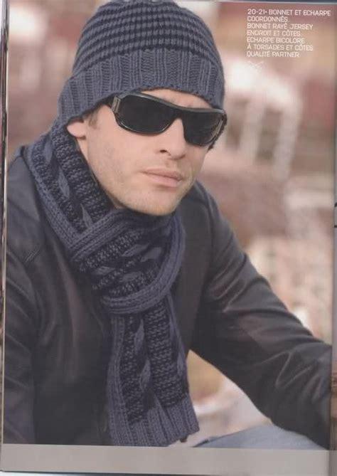tejido bufanda de hombre gorros tejidos a crochet para hombre patrones imagui