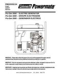 5000 watt generator parts diagram 5000 free engine image