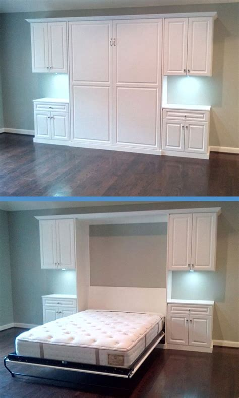 what to do with extra bedroom this is a wall bed what a great idea for a guest bedroom