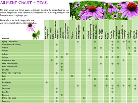 herb growing chart herbal tea chart www pixshark com images galleries