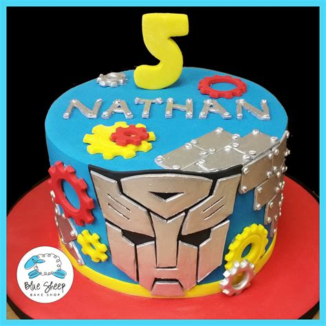 Bridal Shower Cake Ideas by Transformers Birthday Cake Blue Sheep Bake Shop