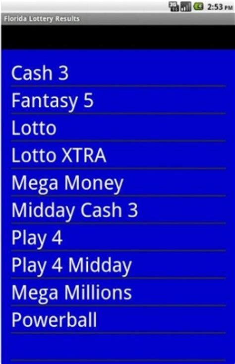 Florida Lotto Mega Money Winning Numbers - florida cash 3 results winning lotto numbers az