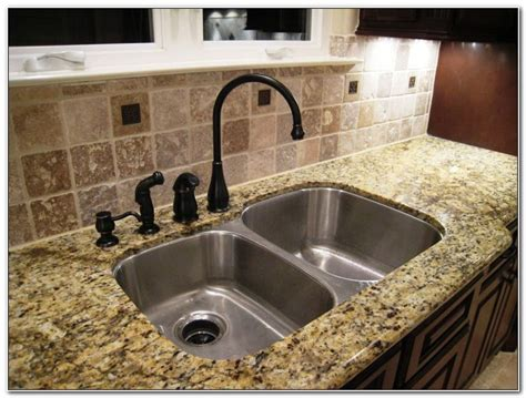 undermount granite kitchen sinks sinks and faucets home