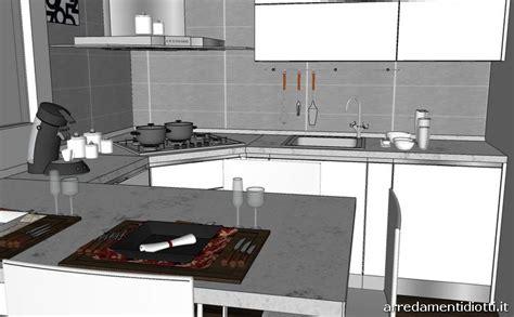 cucine diotti cucina con penisola e cappa angolare sfera diotti a f