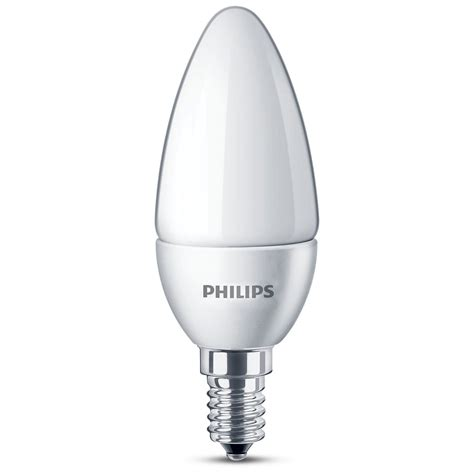 Lu Led Philips 14 Watt philips led l kaars mat 15w e14