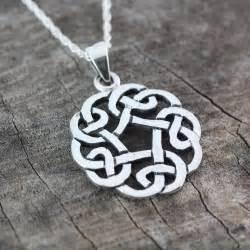 Celtic Knot Friendship Necklace Sterling Silver Celtic Knot Celtic Knot For