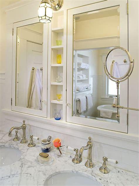 recessed built in bathroom mirror cabinet medicine cabinet shelves houzz