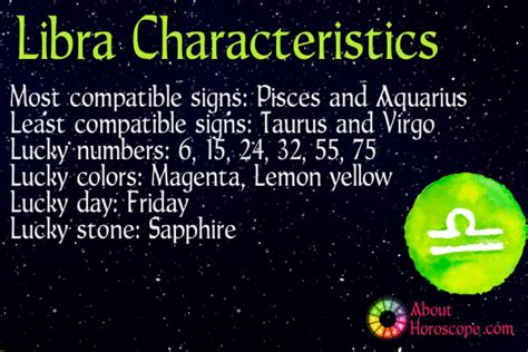 libra traits personality and characteristics