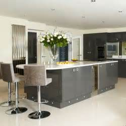 gray kitchens pictures sleek grey kitchen kitchen housetohome co uk