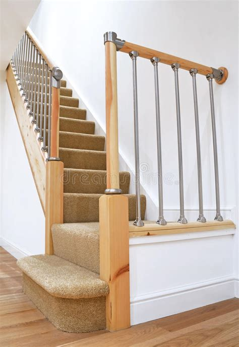 Chrome Banister Rails by Typical Uk Stairs With Chrome Railing Stock