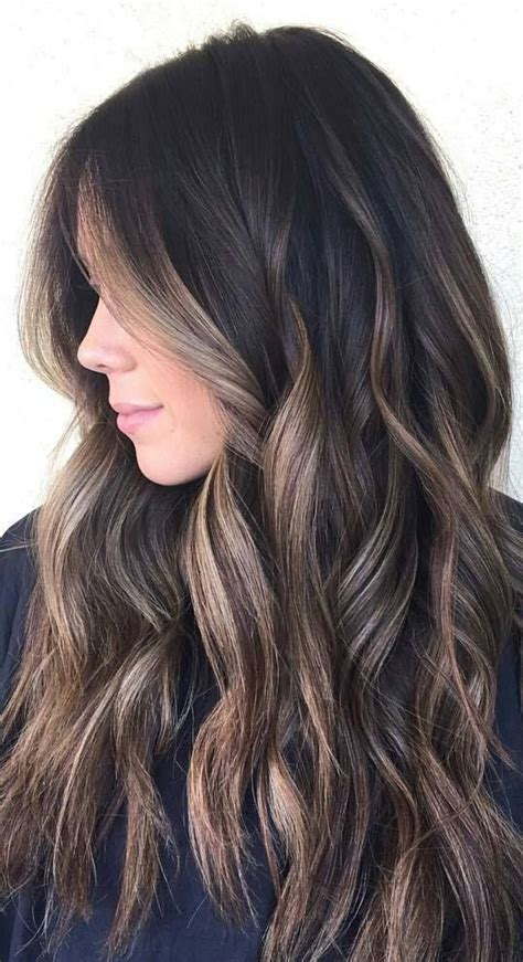 black with blonde highlights hairstyles fashion trends die 25 besten ideen zu balayage auf pinterest balayage