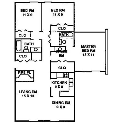 three home plans pdf diy three bedroom plans bunk