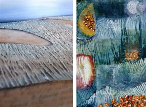 how to give acrylic paint on canvas texture how to make your project exciting creative mixed media