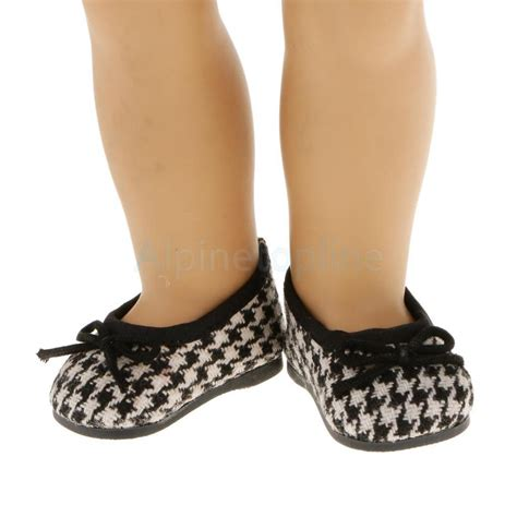 shoes and clothes black white houndstooth shoes fit 18 quot american ag my