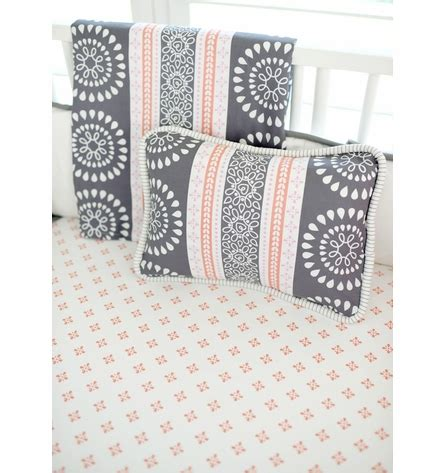 Harper In Coral Crib Bedding Set By New Arrivals Inc Inc Crib Bedding Set