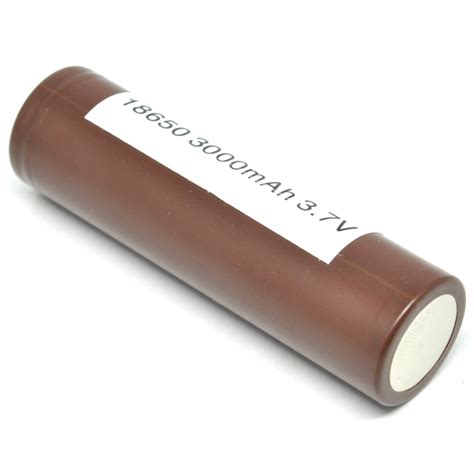 Lg Hg2 18650 Li Ion Battery 3000mah 3 7v With Flat Top lg hg2 18650 li ion battery 3000mah 3 7v with flat top brown jakartanotebook