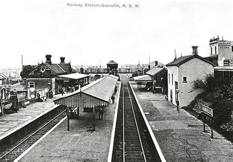Nsw Records Free Railway Station Granville 1890 Granville Railway Statio Flickr